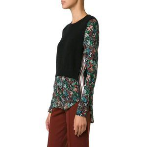 Veronica Beard L Mellow Cahsmere + Silk Sweater